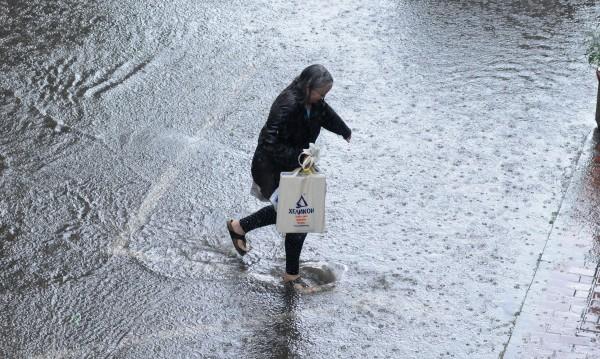 В Русе падна дъжд пет пъти повече от нормалното