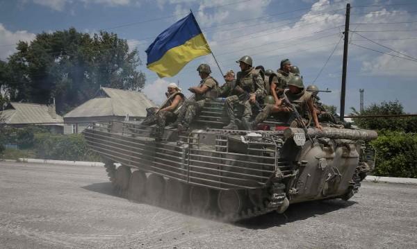 Властите в Украйна нанесоха въздушни удари срещу бунтовниците