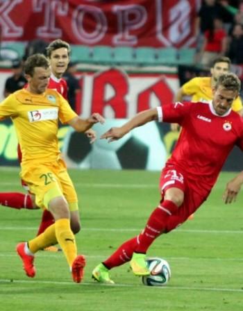 Гредата спаси ЦСКА от домакински резил срещу Зимбру