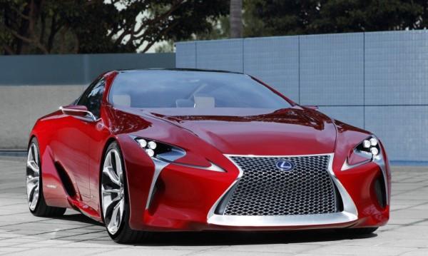 Lexus одобри серийния LF-LC