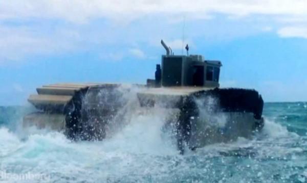 """Новото """"морско чудовище"""" на военните"""