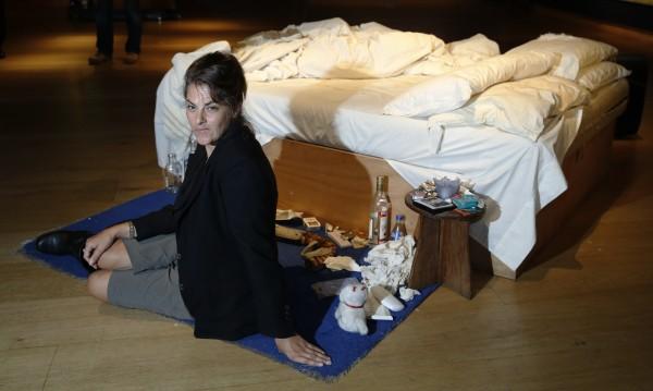 Разхвърляното легло на Трейси Емин ще бъде изложено в Лондон