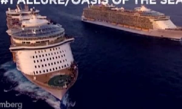 Кои са петте най-големи круизни кораба в света