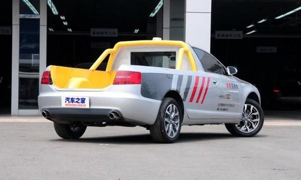 Дилър на Audi превърна A6 в пикап