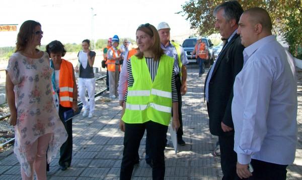 Ремонтът на жп линията Септември-Пловдив сред рисковите проекти по ОП Транспорт