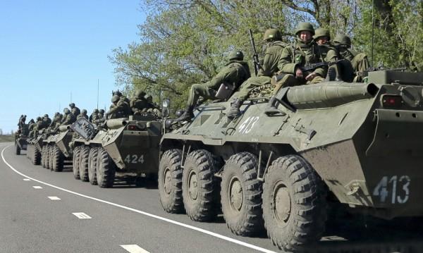 Киев: Заловихме БТР-и на руската армия в Източна Украйна