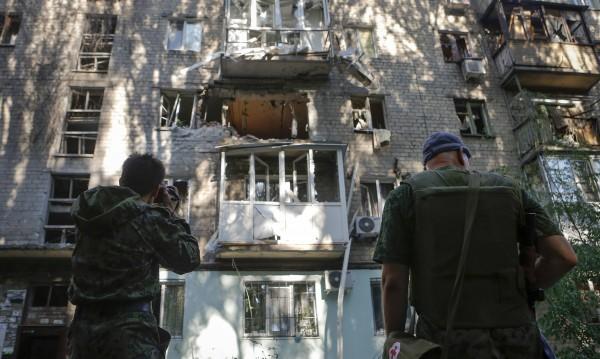 Семейство е загинало при артилерийски обстрел на Донецк