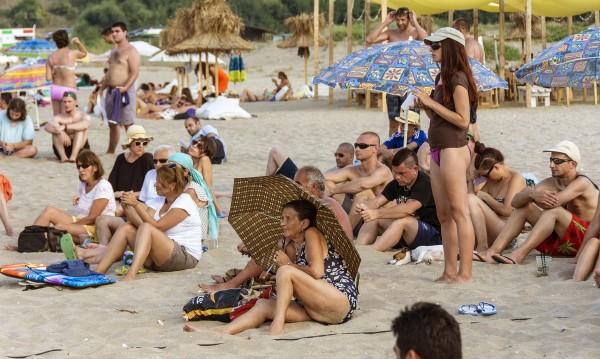 Само около 20% от почиващите на Черноморието са българи