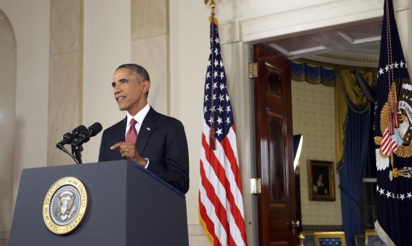 """Обама: САЩ няма да се поколебаят, ще атакуват """"Ислямска държава"""""""