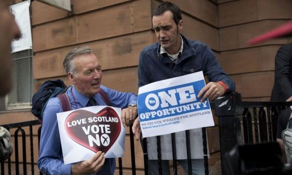 """Британската преса за """"деня на истината"""" за Шотландия"""