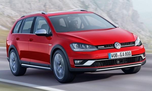 Volkswagen представи всъдеходен Golf
