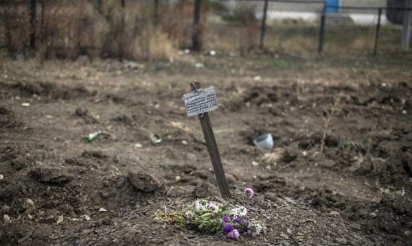 Откриха масови гробове в Донбас, Украйна