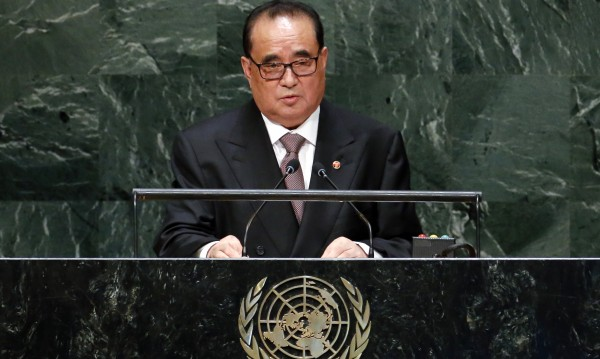 Дипломат №1 на Пхенян с реч пред Общото събрание на ООН