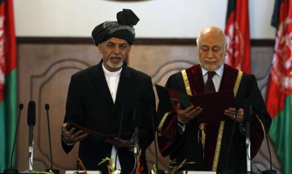 Новият президент на Афганистан Ашраф Гани положи клетва