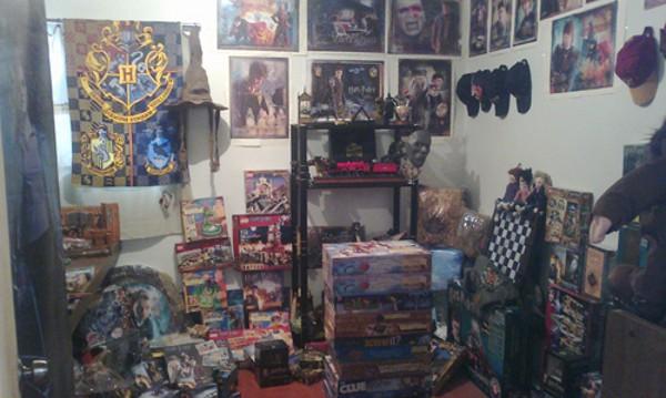 Мексиканец има най-голямата колекция с вещи, свързани с Хари Потър