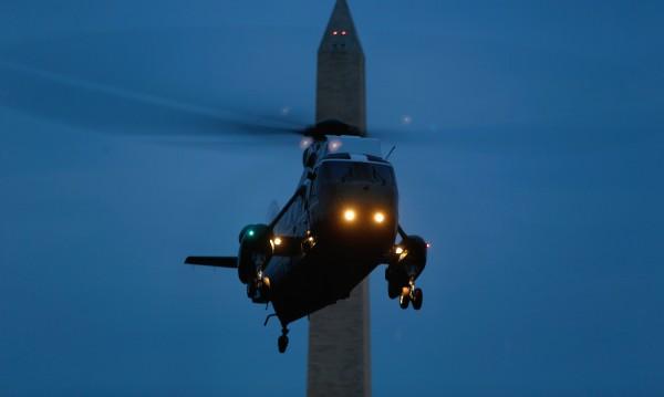 САЩ използваха за първи път хеликоптери срещу ИД