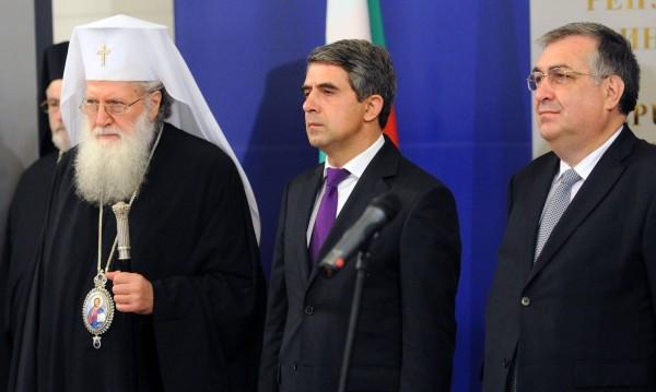 Президентът, премиерът и патриархът почетоха цар Самуил