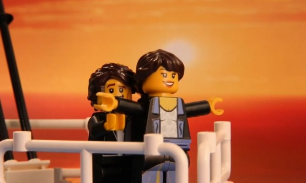 Популярни филмови сцени... от Лего!