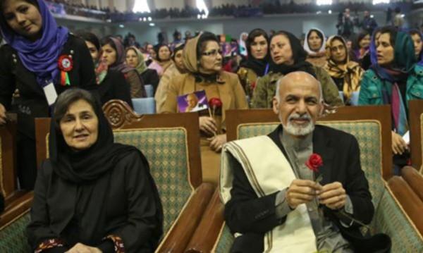 По-различната първа дама на Афганистан