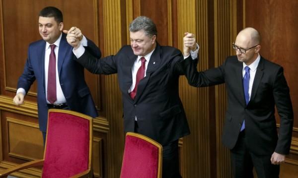 Арсений Яценюк е преизбран за премиер на Украйна