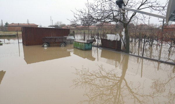 Обявиха бедствено положение в община Раднево