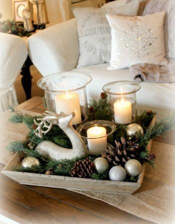 Коледна украса за празничната трапеза