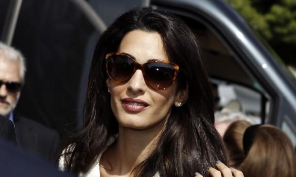 Съпругата на Клуни - Амал, била заплашена с арест в Египет