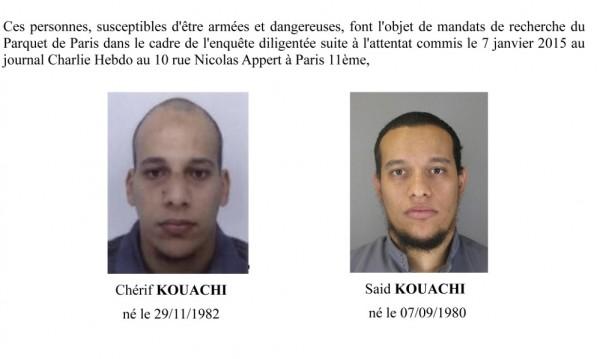 Атентаторите от Париж са засечени в Северна Франция