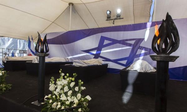 В Израел погребаха четирите еврейски жертви от Париж