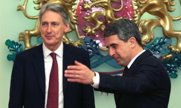Плевнелиев и Хамънд поискаха завършване на Единния пазар