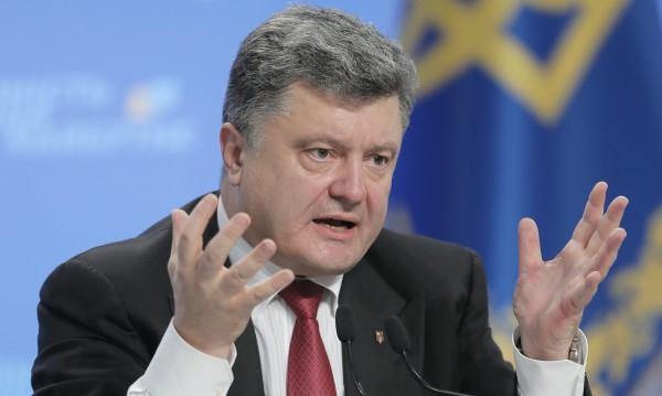 Киев ще си върне контрола над Източна Украйна, обеща Порошенко