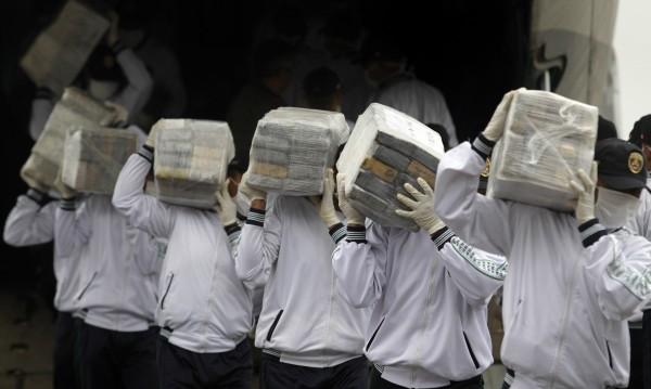 Заловиха над тон кокаин в Панама