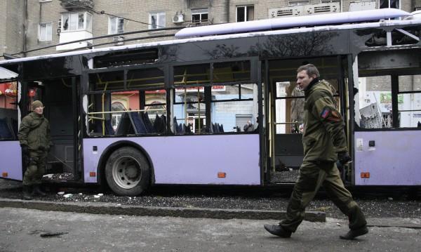 Съветът за сигурност на ООН осъди обстрела на тролейбус в Донецк