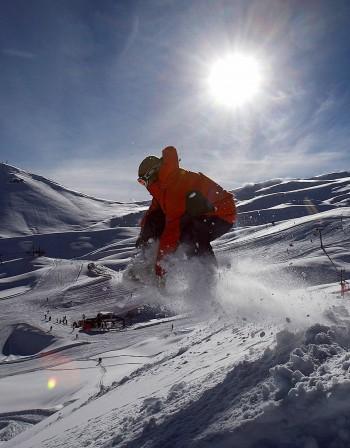 Опасността от снежната слепота е повишена в планината