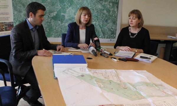 """Нов парк с място за цирк и амфитеатър ще има в софийския район """"Възраждане"""""""