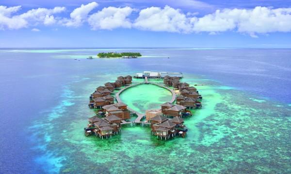 Райското местенце на Малдивите