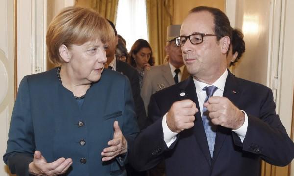 Оланд и Меркел с ново предложение за уреждане на украинската криза