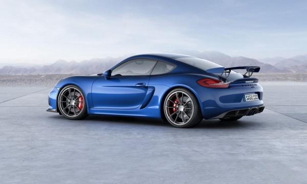 Най-бързият Porsche Cayman излезе на сцената