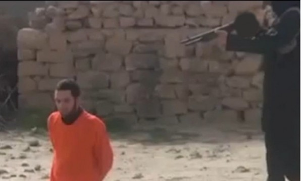 ИД показа ново видео с екзекуция