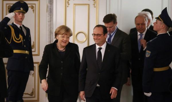 Обама остави Оланд и Меркел сами на дипломатическата сцена