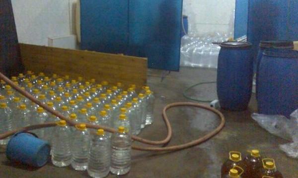 Иззеха 1200 литра алкохол без акциз в Цар Калоян