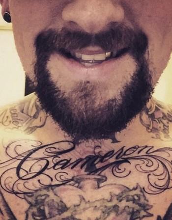 Мъжът на Камерън Диас си татуира името й