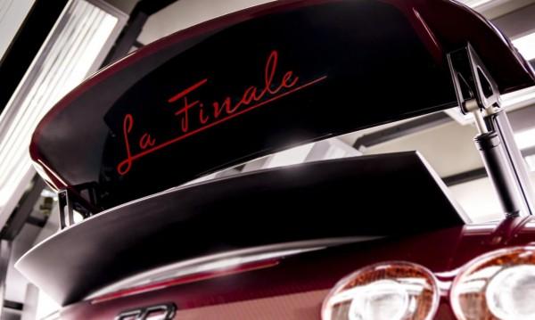 Bugatti приключи с Veyron