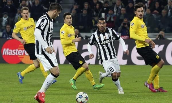 Дортмунд запази шансове срещу Ювентус