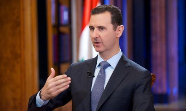 Асад твърди, че е подкрепян от сирийците въпреки войната