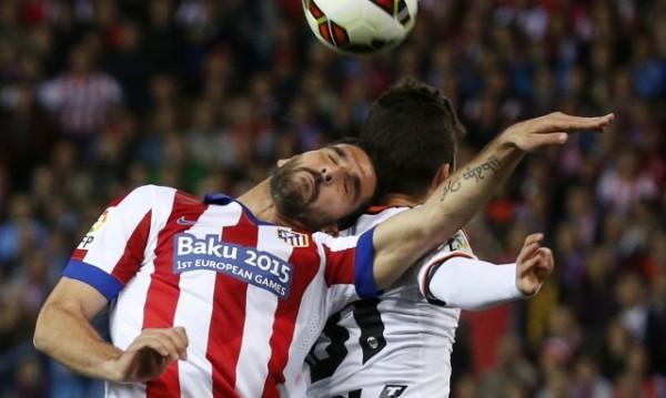 Атлетико и Валенсия стигнаха до 1:1 в битка за тройката