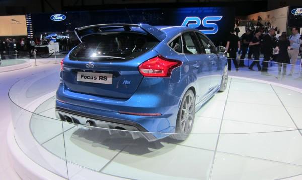 Новият Focus RS е 4х4