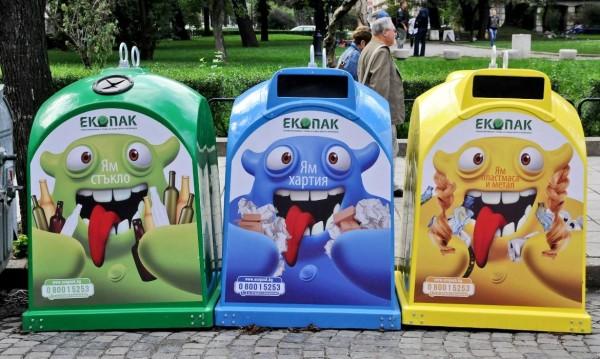 Клошари опоскват 93% от боклука в разделните контейнери