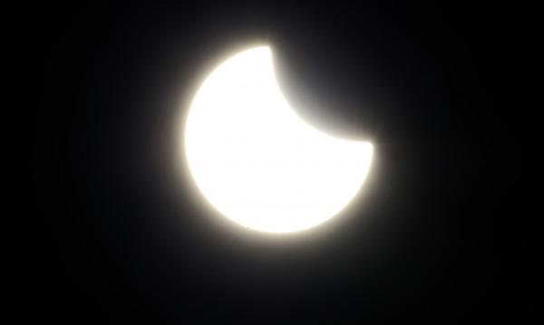 Слънчевото затъмнение наживо от Фарьорските острови!