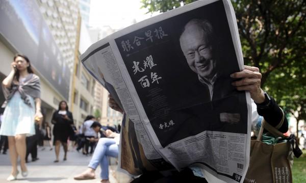 Почина основателят на Сингапур Ли Куан Ю